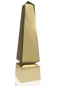 Modern Obelisk Gold