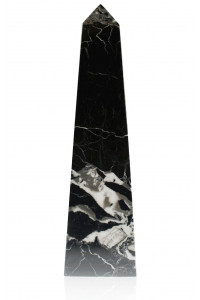 Straight Obelisk Black Zebra