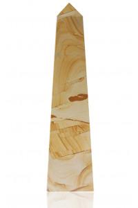 Straight Obelisk Teak Marble