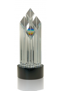 Diamond Crystal Tower, Black Base