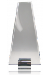 Silver Grabs Crystal Triangle