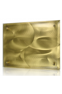 Gold Swirl Plaque