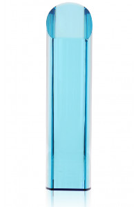 Century Crystal Cylinder Blue