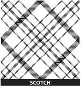 Customized Award Scotch Pattern